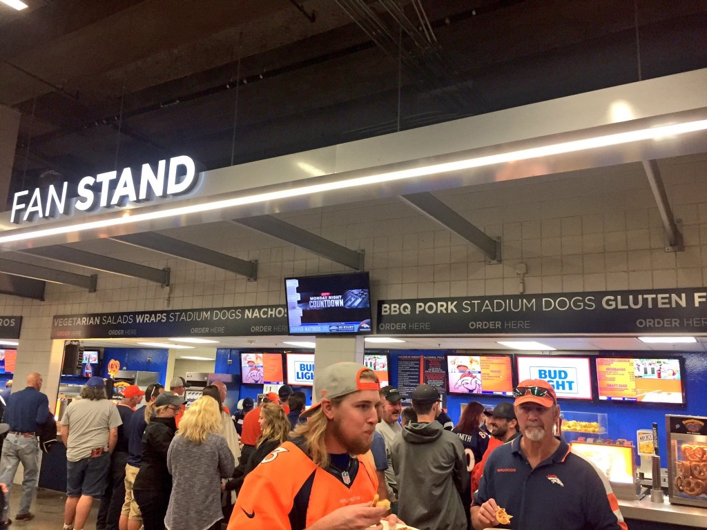 Sports Authority Field Concessions