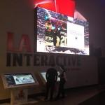 LA Interactive stand