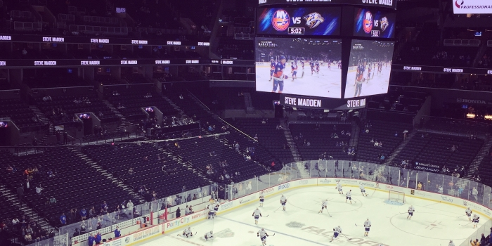 New York Islanders and Barclays Centre Fan Experience Review