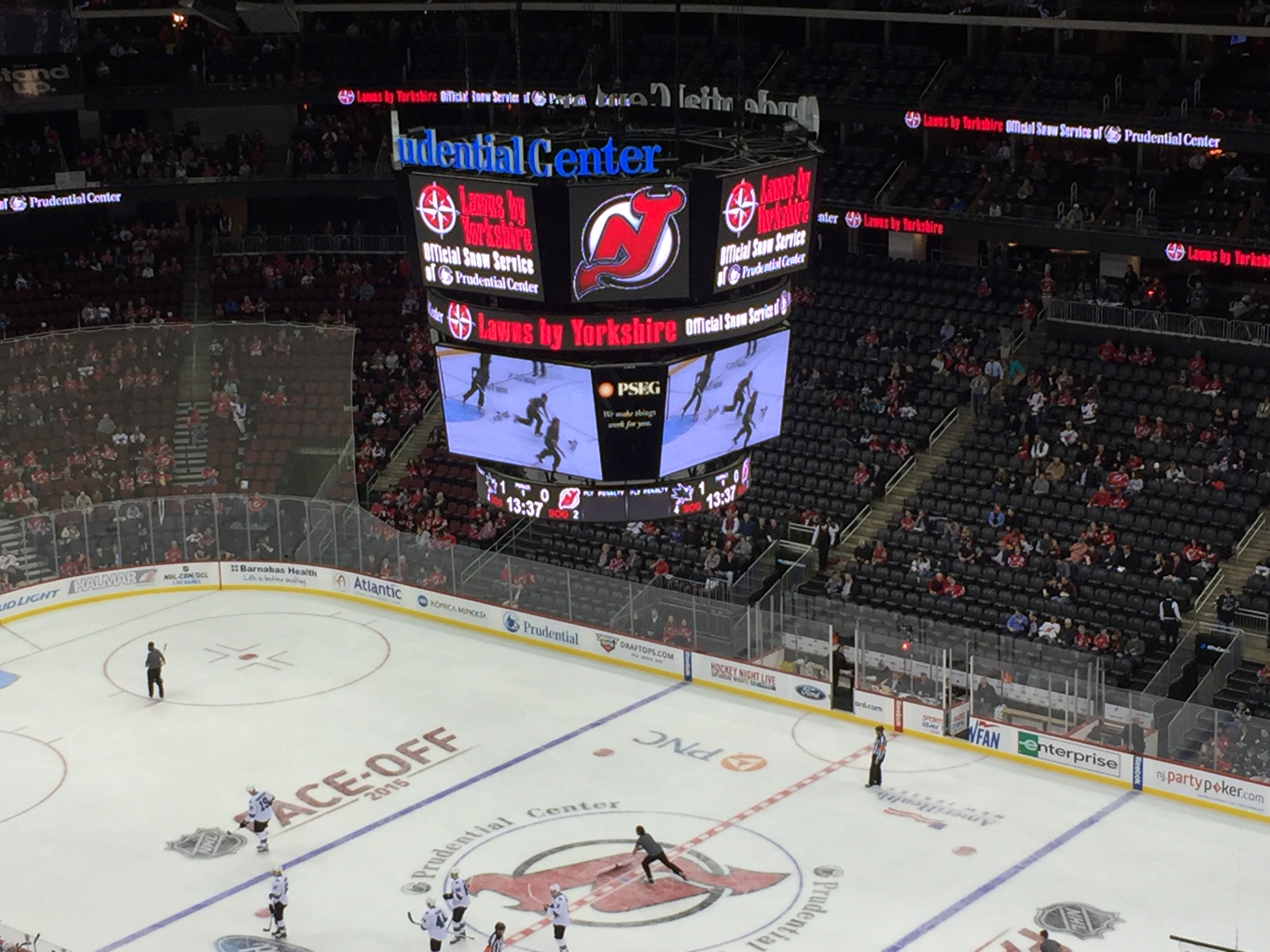 low priced a977c e5943 New Jersey Devils and Prudential Centre Fan Experience ...