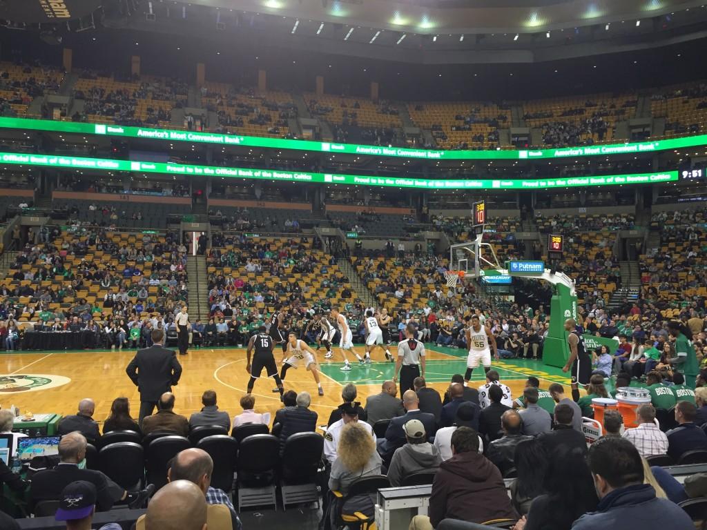 Boston Celtics And Td Garden Fan Experience Review Blair