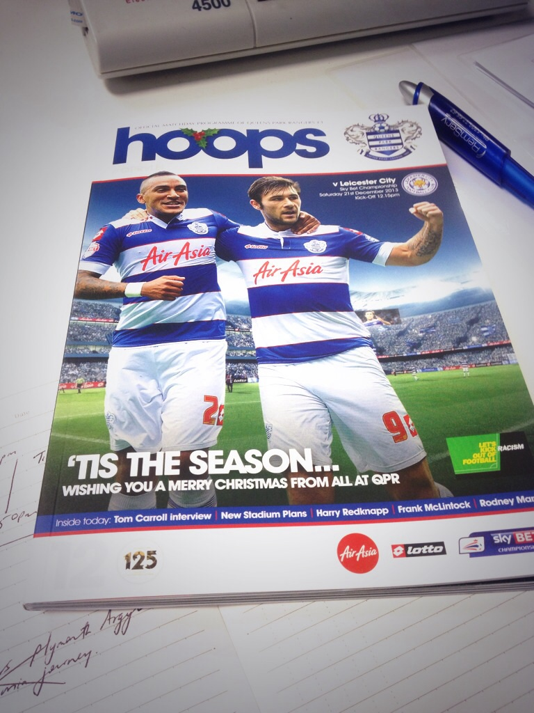 QPR match day program