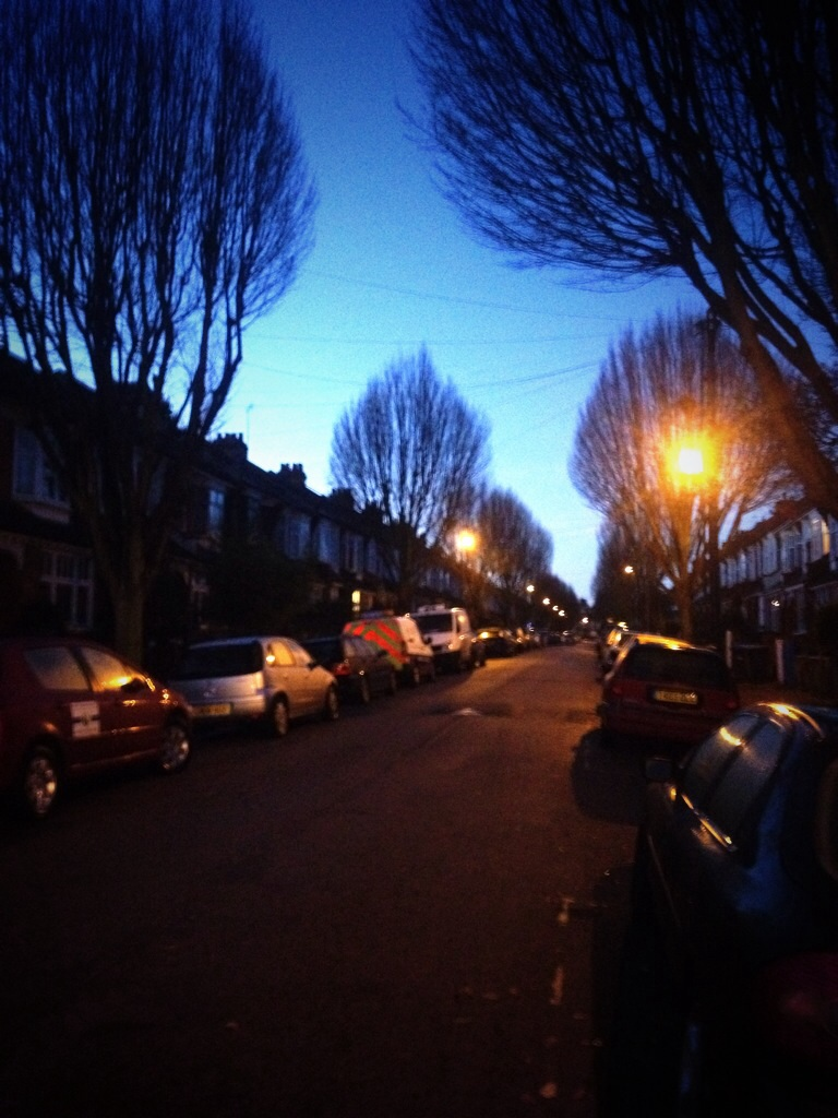 Morning in Arnos Grove