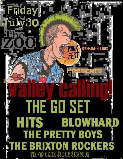 Brisbane Sounds Punk Showcase