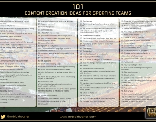 101 Fan Engagement Ideas Sporting Teams