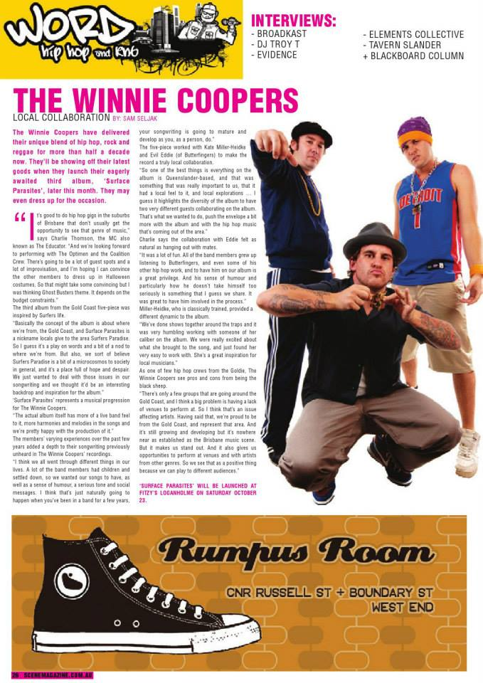 Winnie Coopers Press