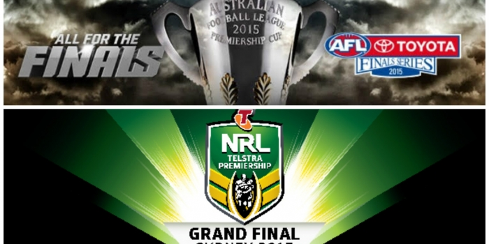 Fan Engagement for the 2015 AFL and NRL Grand Finals