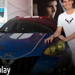 Aus Open 2016: Kia X Car Display