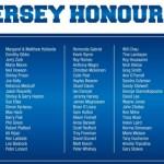 Bulldogs 18 Jersey Honour Roll