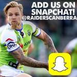 Raiders on SnapChat