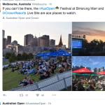 AUS OPEN 2016 Festival Site