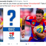 Knights Quizzes NRL
