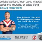 Roosters Legal Advice