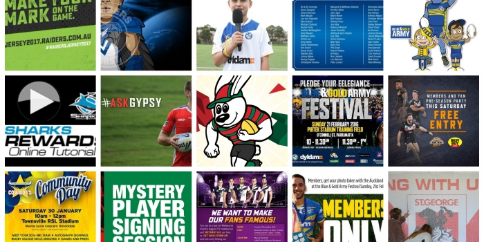 Club by Club: 2016 NRL Fan Engagement and Fan Experience Activations