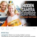 GWS Giants Hidden Camera Surprise