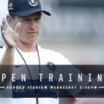 Blues Open Training