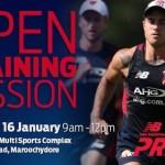 Melbourne Open Training