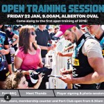 PAFC Open Training Session