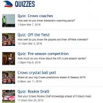 Crows Quizzes