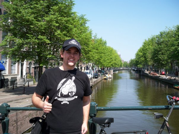 Promoting Brisbane Sounds in Amsterdam, 2007