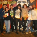 With Grand Atlantic at SXSW, Austin, Texas, 2010