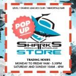 Sharks Pop Up Shop