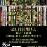 Brisbane Sounds Poster Art