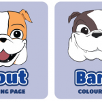 The Pack Colouring Page