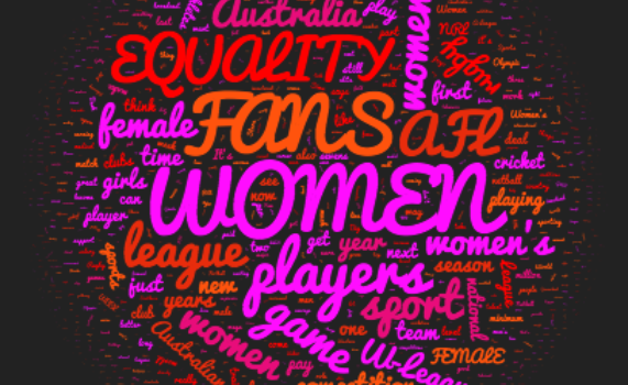 Women In Sport Australia 2016: Learn What's Happening Across Five Codes In Australian Women's Sport