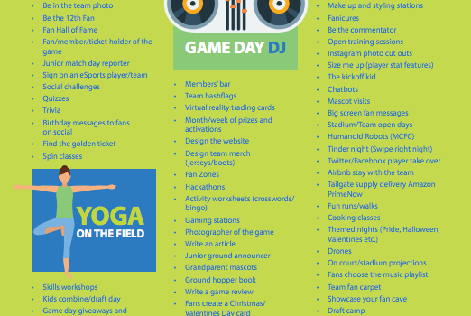 FREE Resource: 200+ Fan Engagement Ideas For Stadiums And Teams