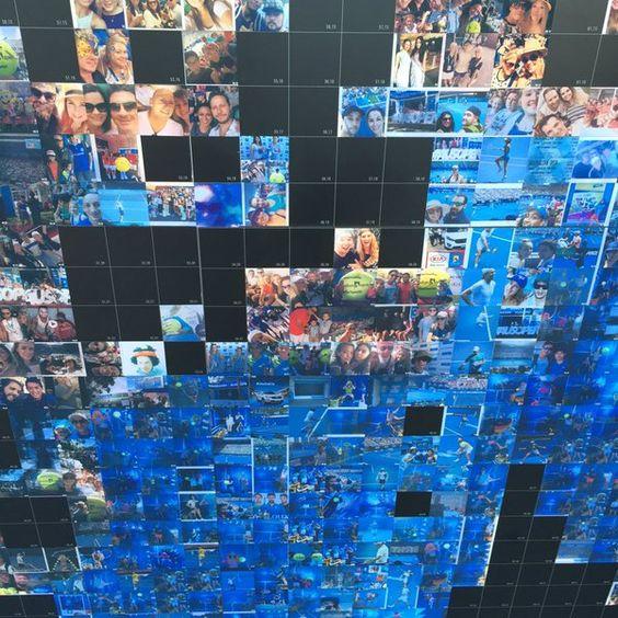 Aus Open Instagram Mosaic