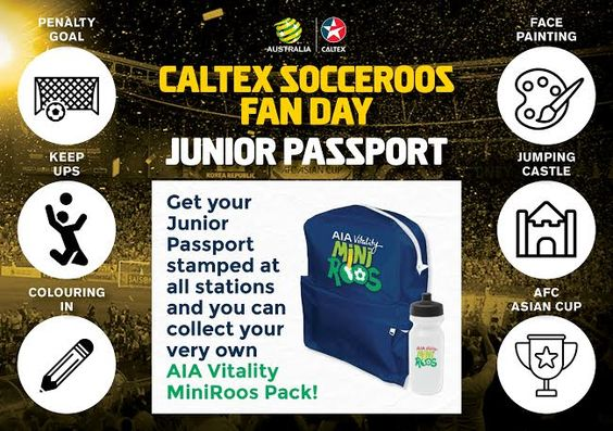 Socceroos Junior Passport