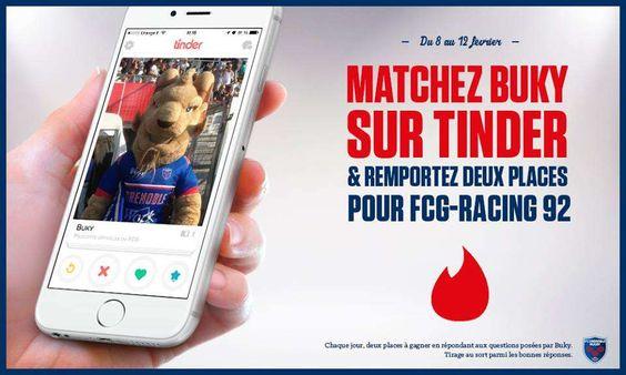 FC Grenoble Rugby Tinder App