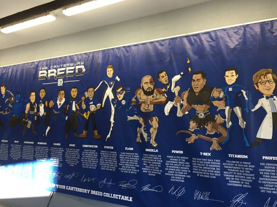 'The Breed' Canterbury Bulldogs NRL