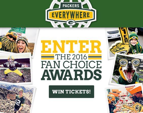 Green Bay Packers Fan Choice Awards