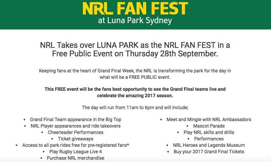 NRL FAN FEST