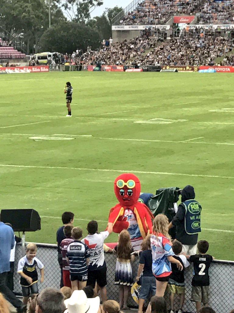 North Queensland Cowboys mascots