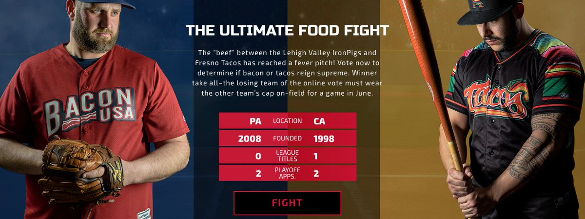 The Ultimate Food Fight