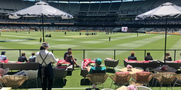 Cricket Australia debuts The Lawn deck fan experience