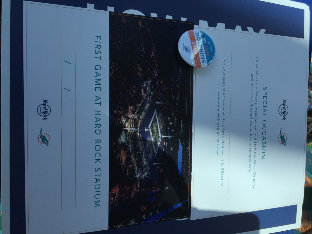 First game badges and certificates