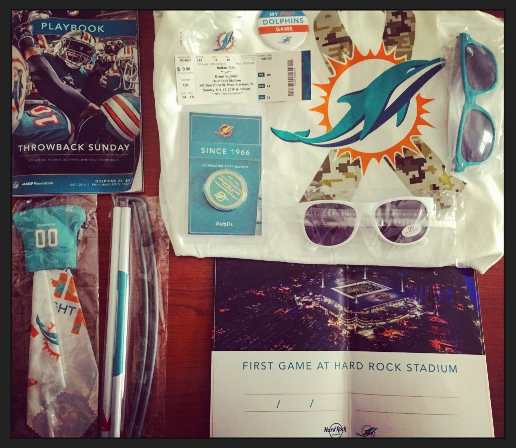 Miami Dolphins Giveaways