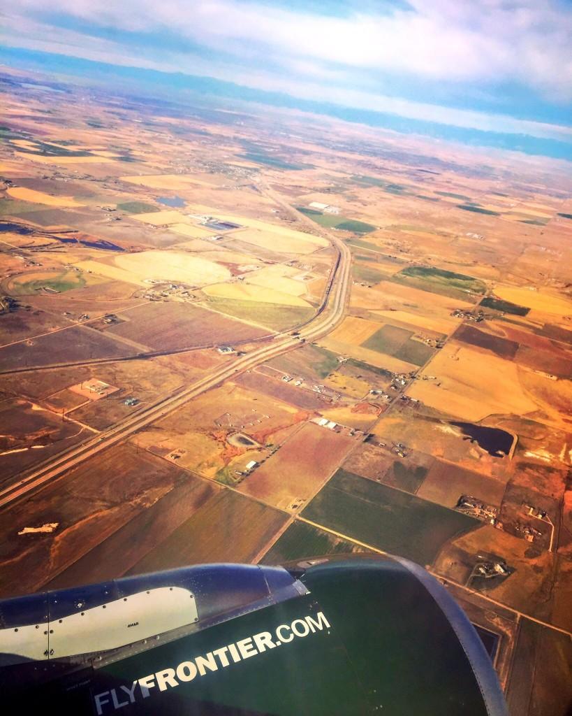 Flying to Denver