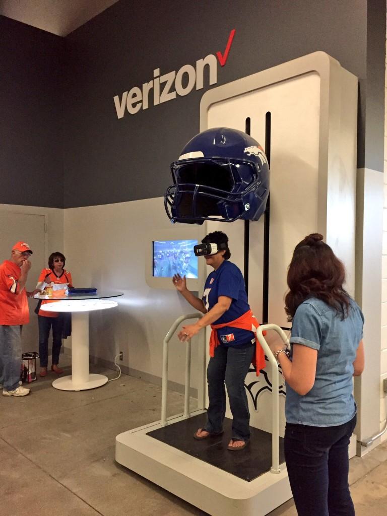 VR at Broncos