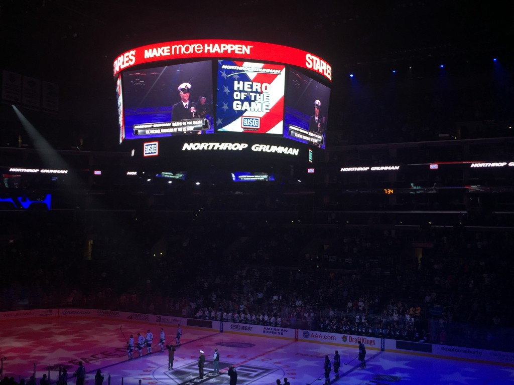 Hero of the game- Honouring USA service men and women