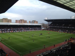 West Ham vs West Brom at Upton Park