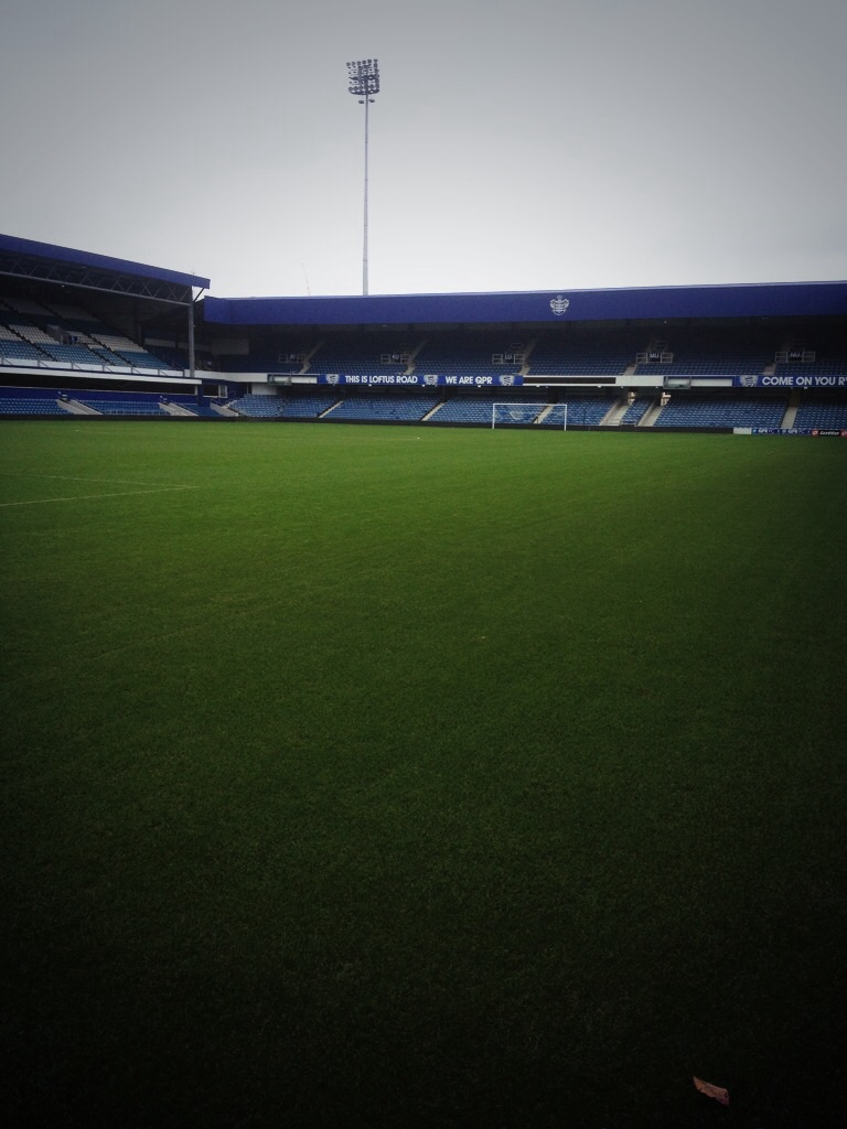 Loftus Road at 2pm