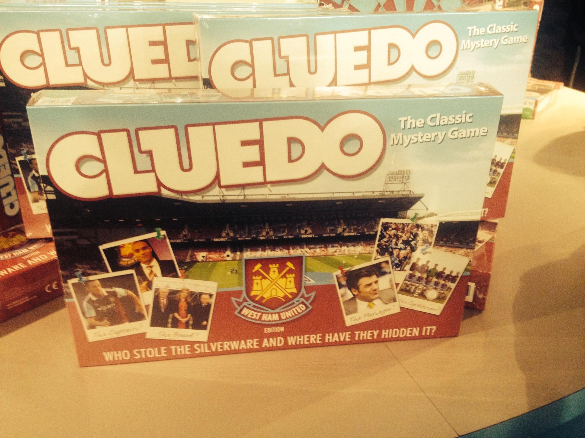 Cluedo WHU game
