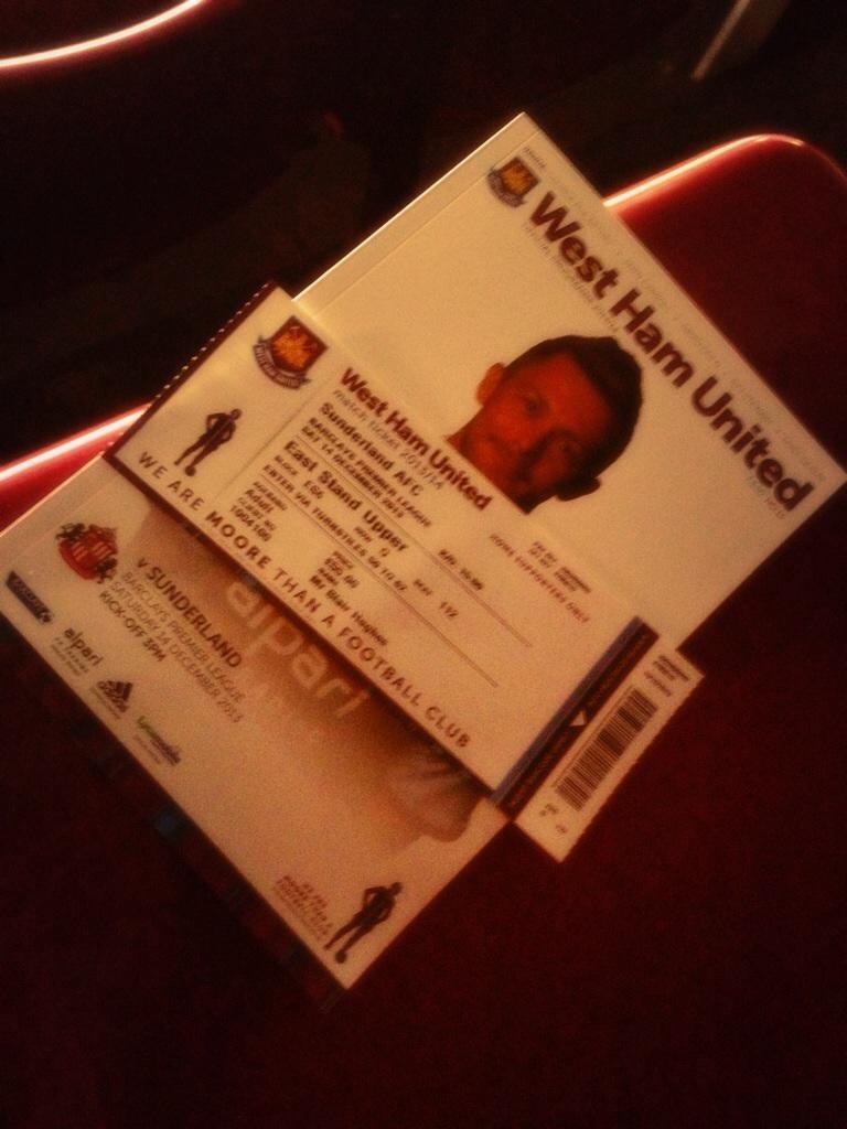 Ticket and program