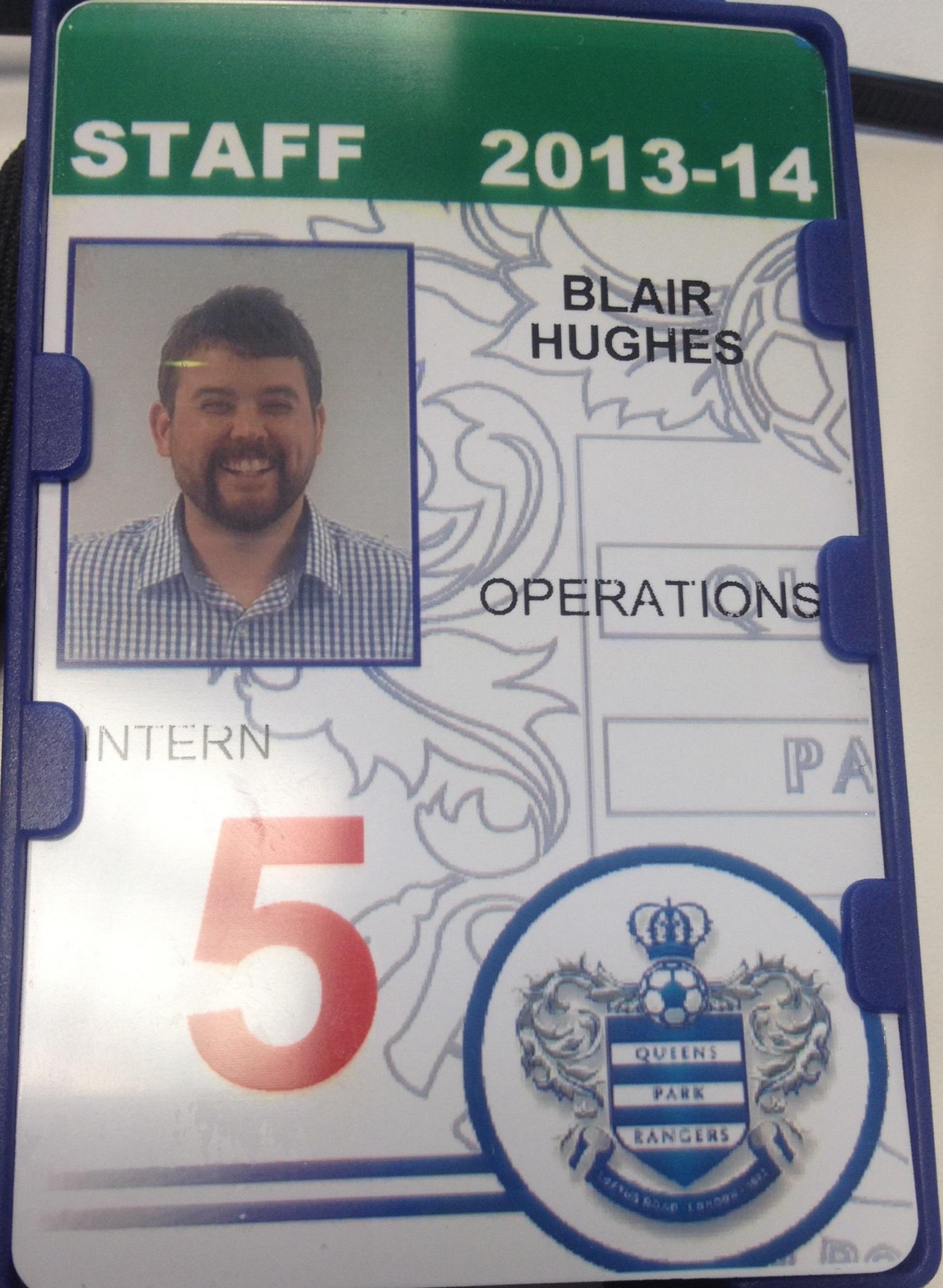 QPR AAA staff card