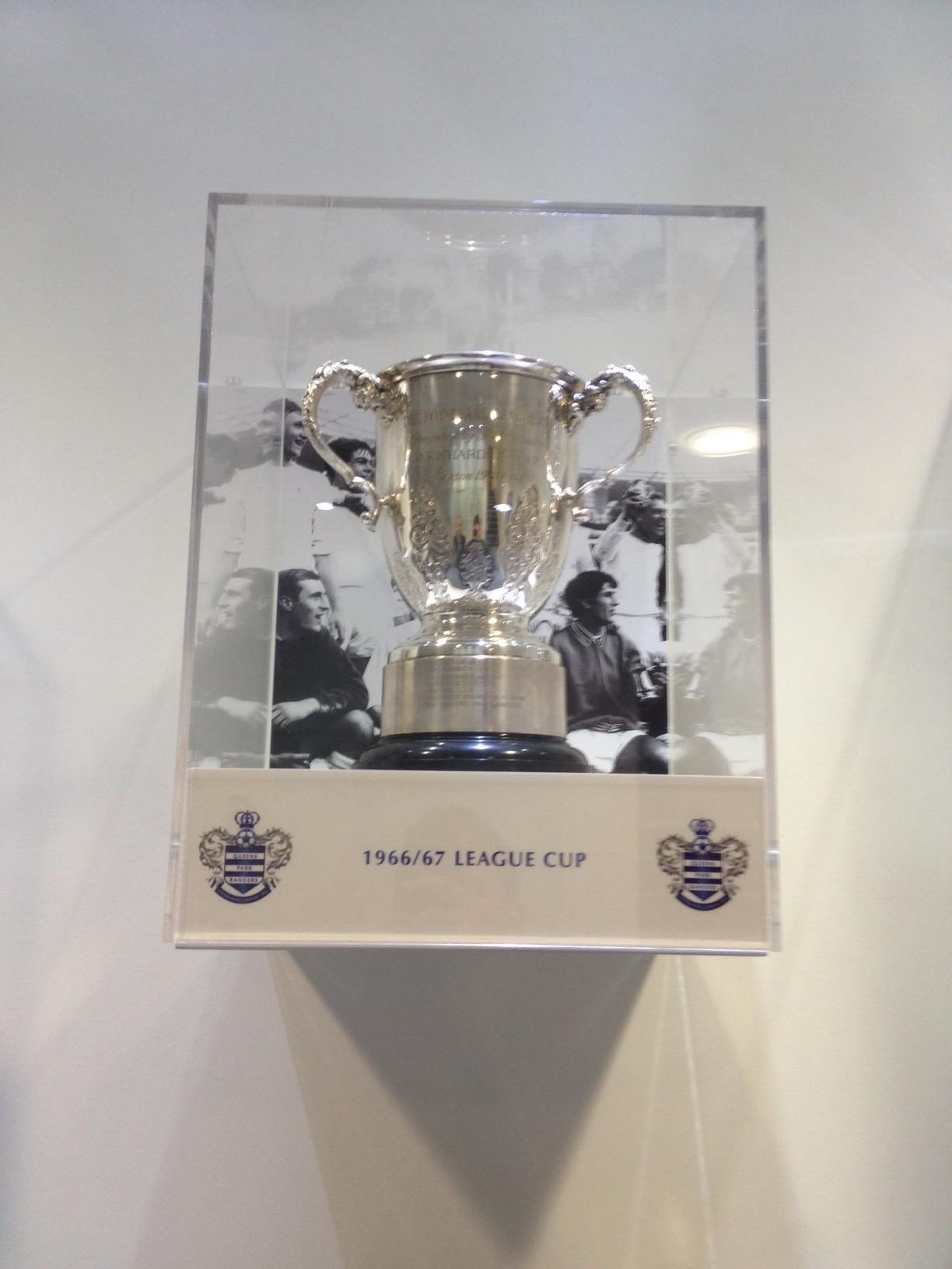 1967 League Cup trophy